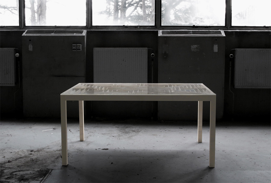 Labyrinth Table by B Nordsmark | Yellowtrace