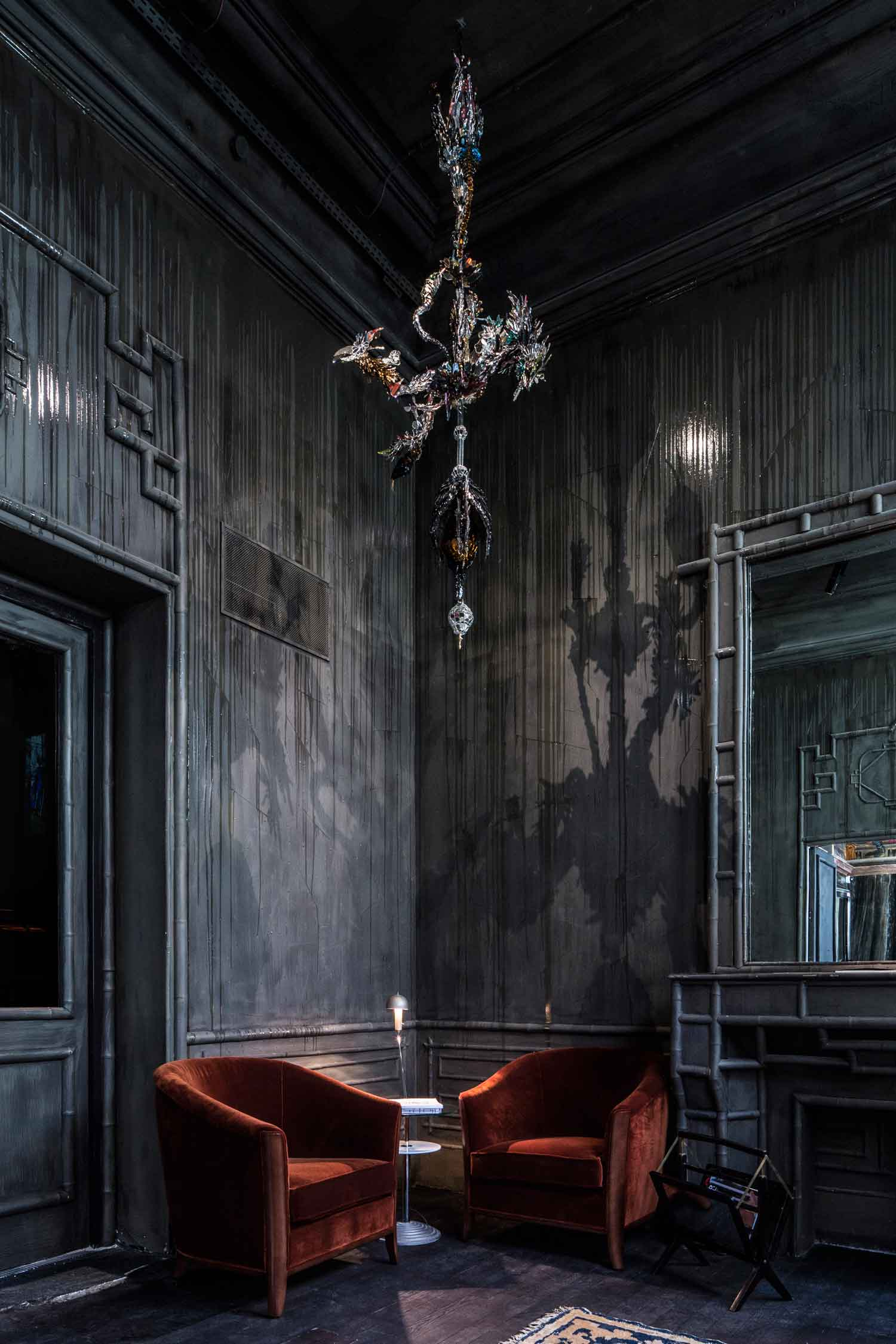 Les Bains Paris Returns as a Luxury Hotel Inside a Nightclub. Photo by Guillaume Grasset | Yellowtrace