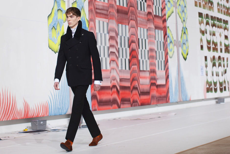 Letman and Gijs Frieling for Dries van Noten Menswear Fall 2012 | Yellowtrace