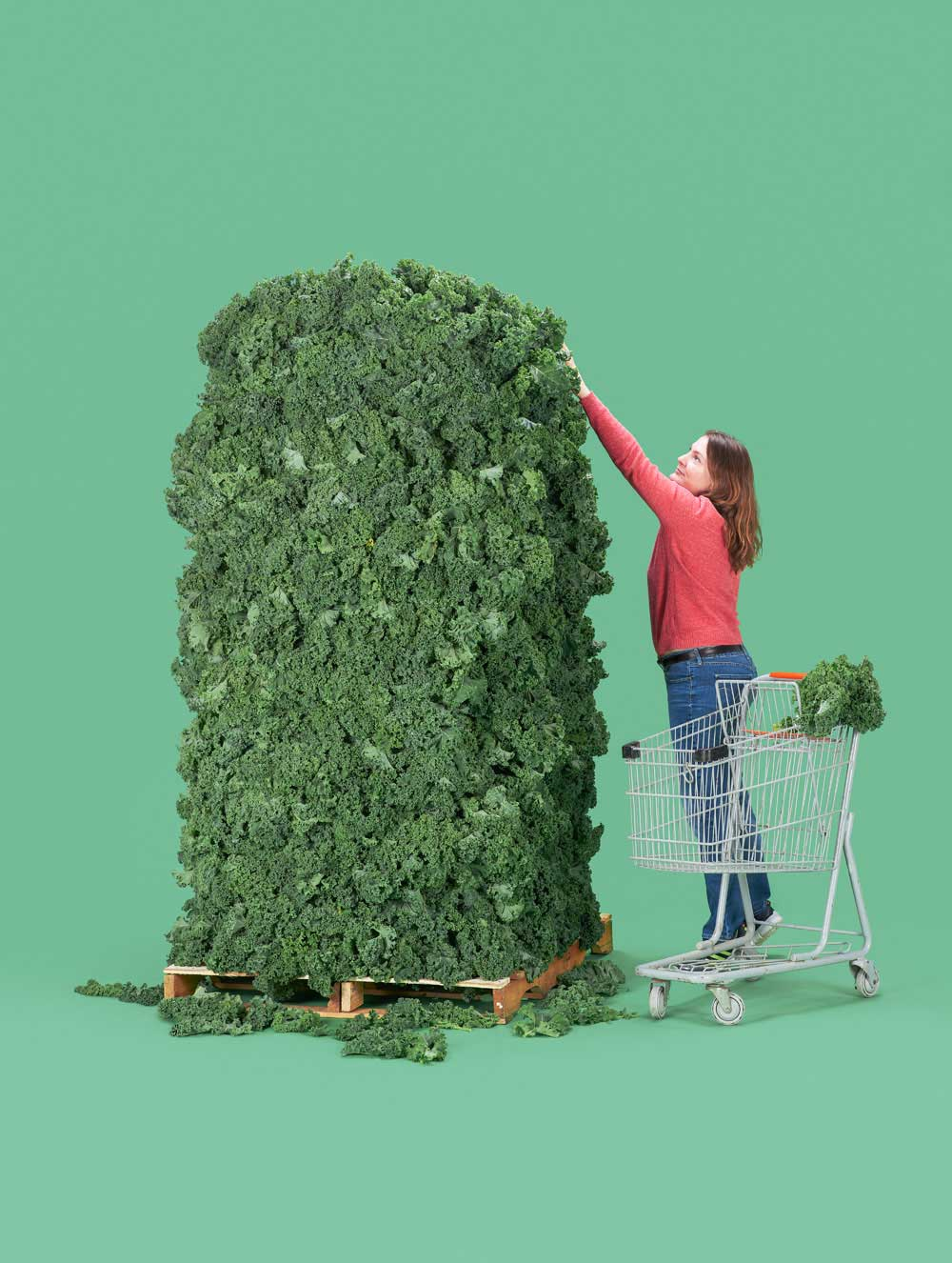 Loads o kale for Bloomberg Businessweek by Andrew B Myers | Yellowtrace