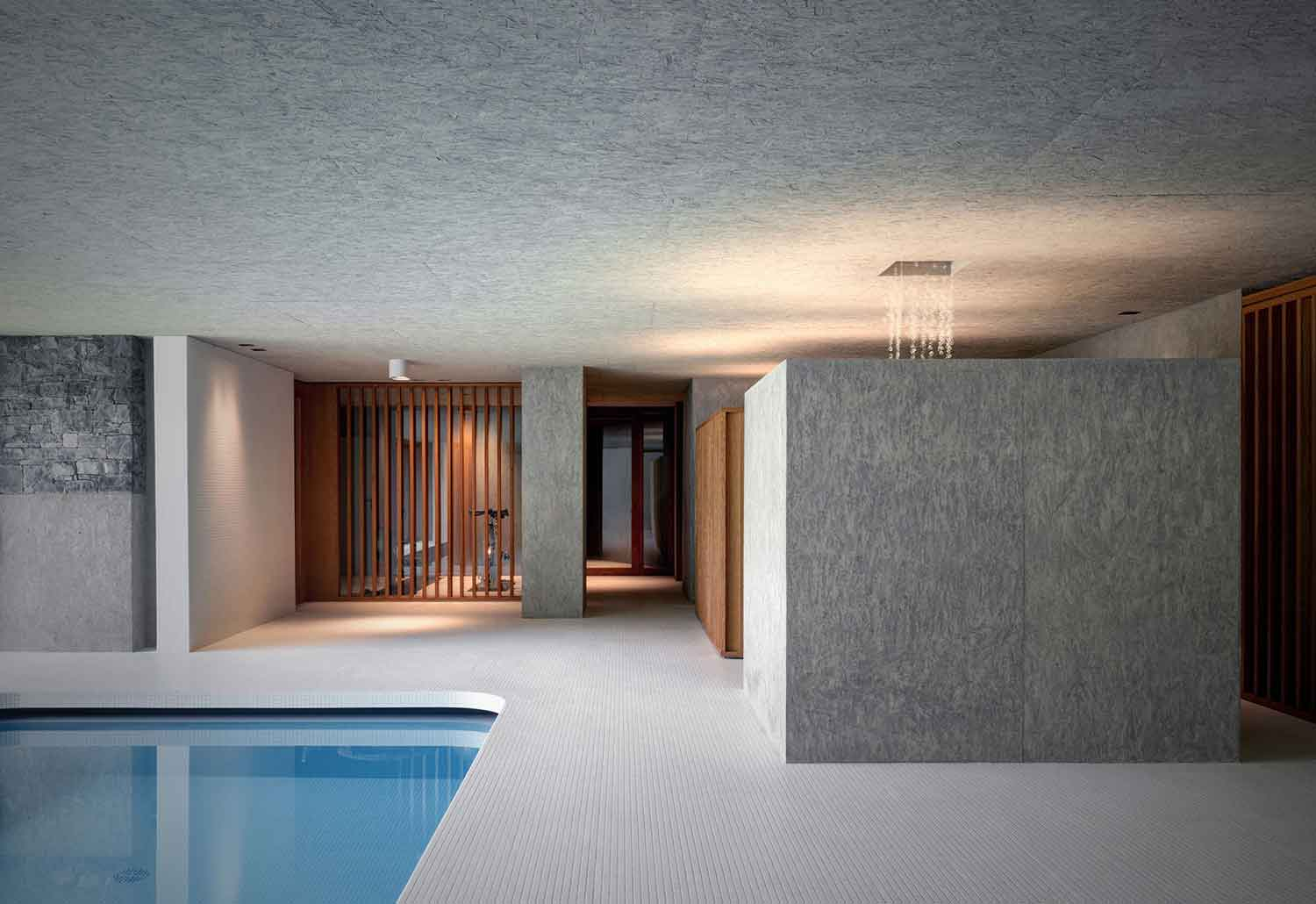Luxury Indoor Swimming Pool by act_romegialli | Yellowtrace