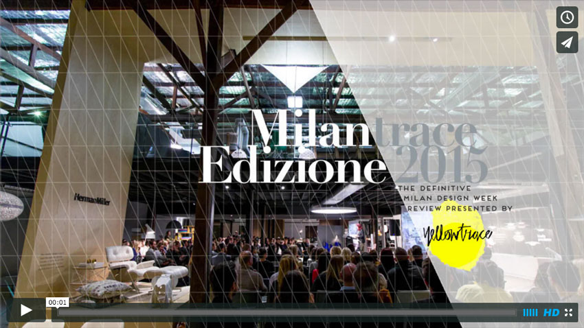 MILANTRACE2015 Talk Series | Video Recording of The Full Talk