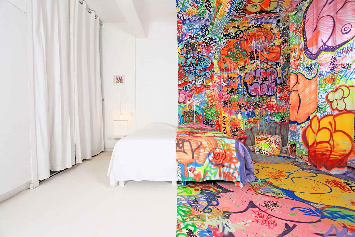 Panic Room by Tilt at the Au Vieux Panier Hotel in France | Yellowtrace