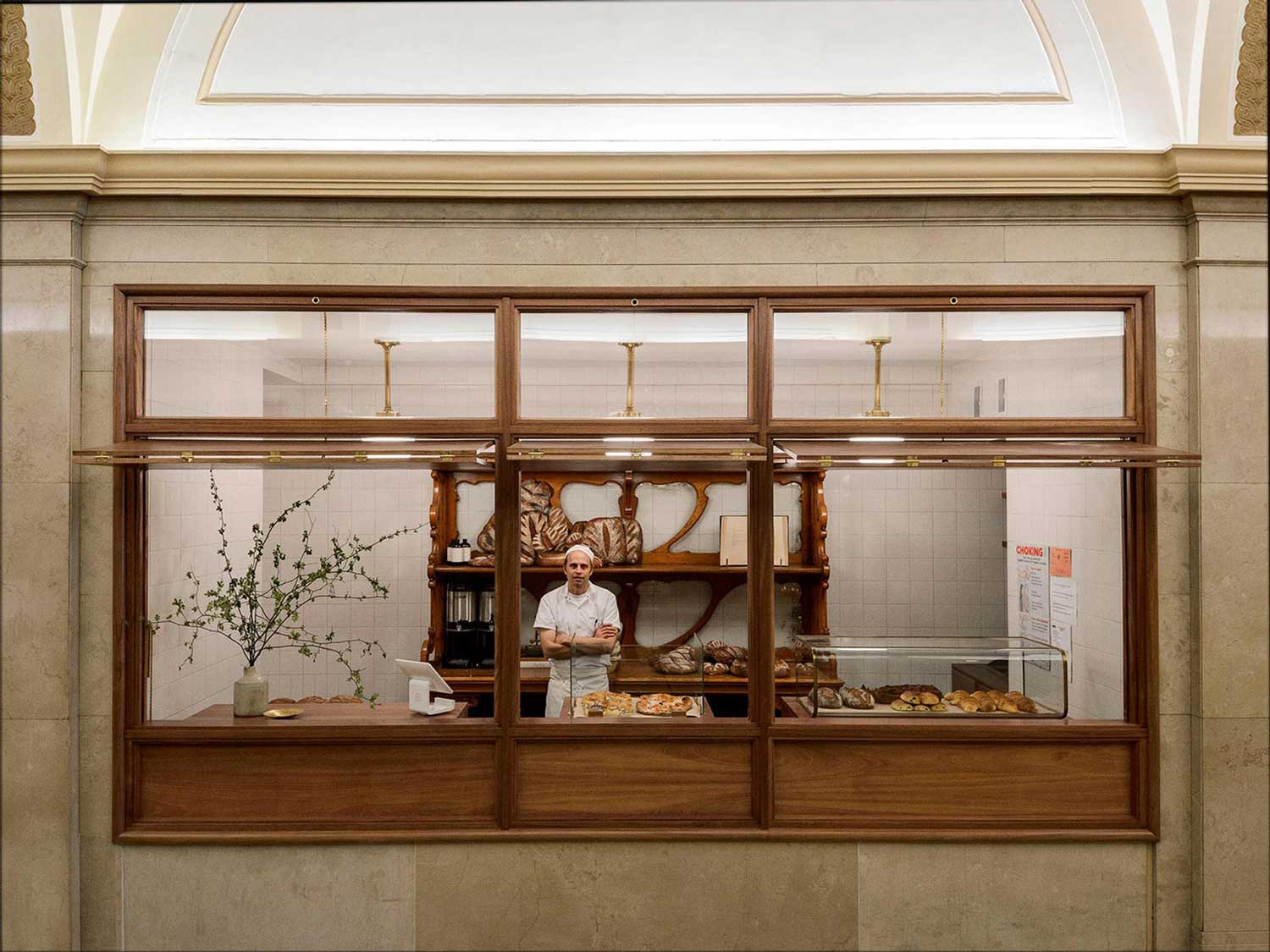 Arcade Bakery in New York City by Workstead | Yellowtrace