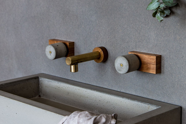Brass Spouts & Timber Taps by Wood Melbourne | Yellowtrace