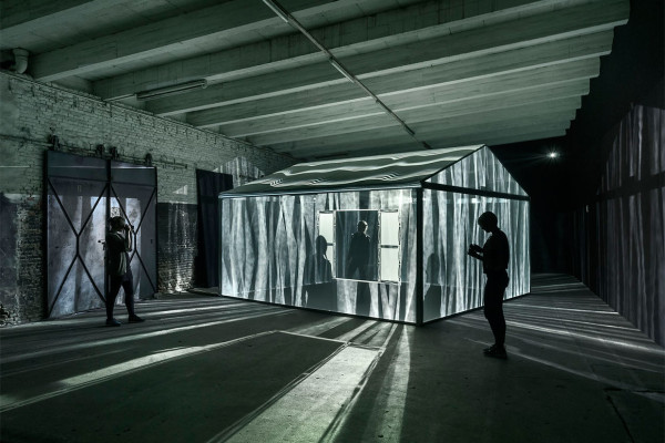 INSIDEOUT 360° Multimedia Installation by Leigh Sachwitz | Yellowtrace