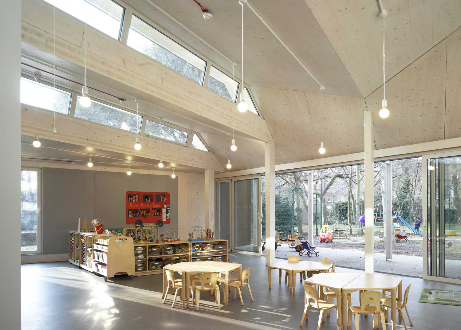 Montpelier Community Nursery by AY Architects | Yellowtrace