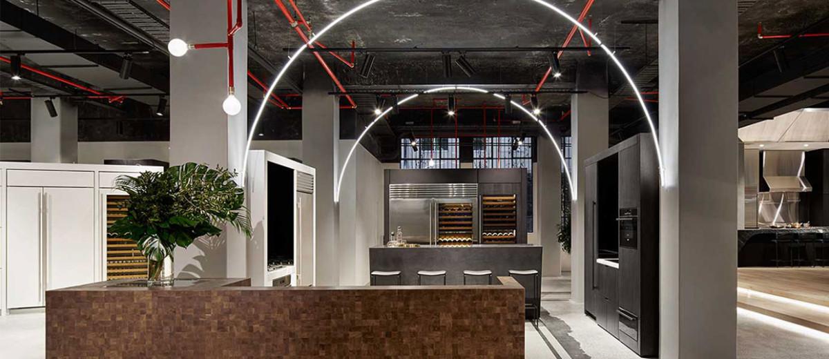 New Sub Zero & Wolf Showroom by Mim Design | Yellowtrace