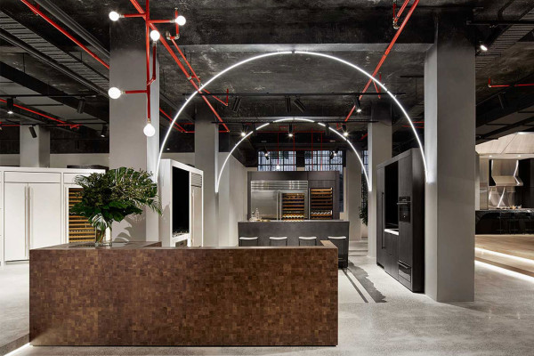 New Sub Zero & Wolf Showroom by Mim Design | Yellowtrace