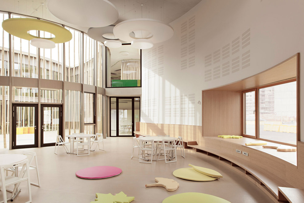 Preschool Kindergarten & Family Center by Modus Architects | Yellowtrace