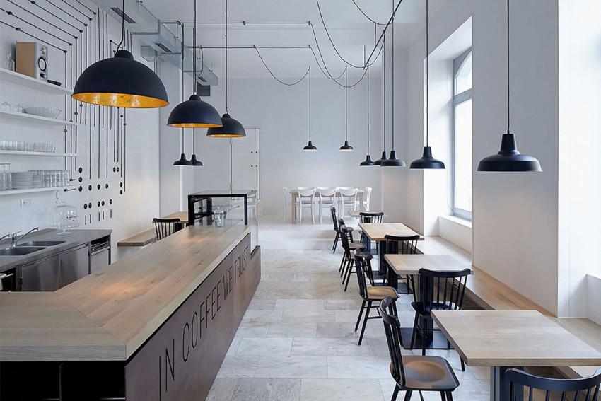 Proti Proudu Bistro by Mimosa architekti | Yellowtrace