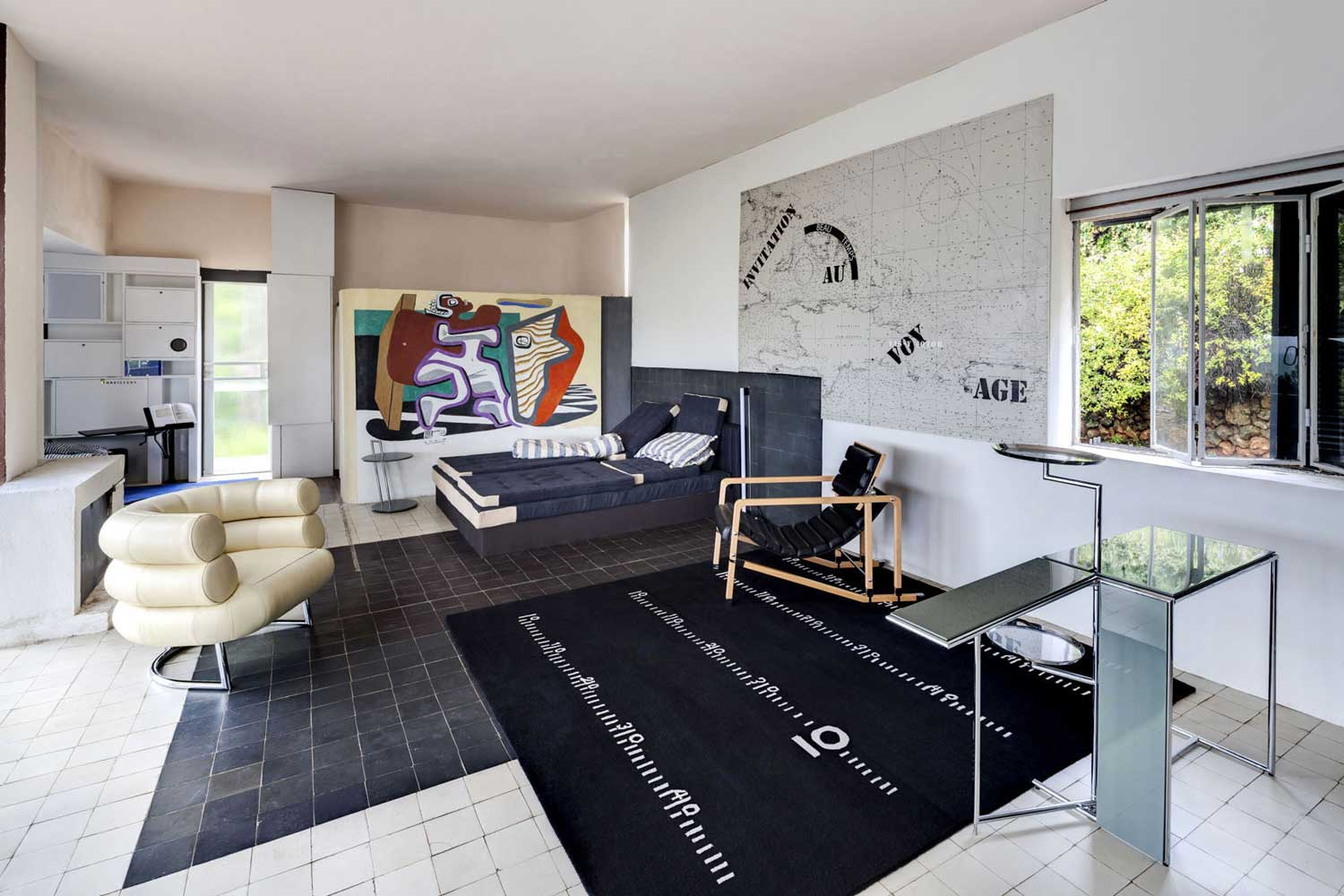 Restauration Of Villa E 1027 By Eileen Gray. Photo By Manuel Bougo |  Yellowtrace