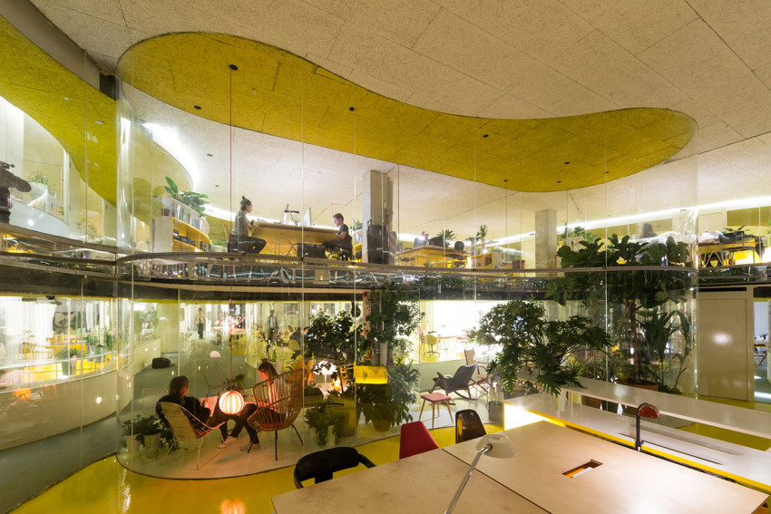 Second Home London Office by Selgascano | Yellowtrace