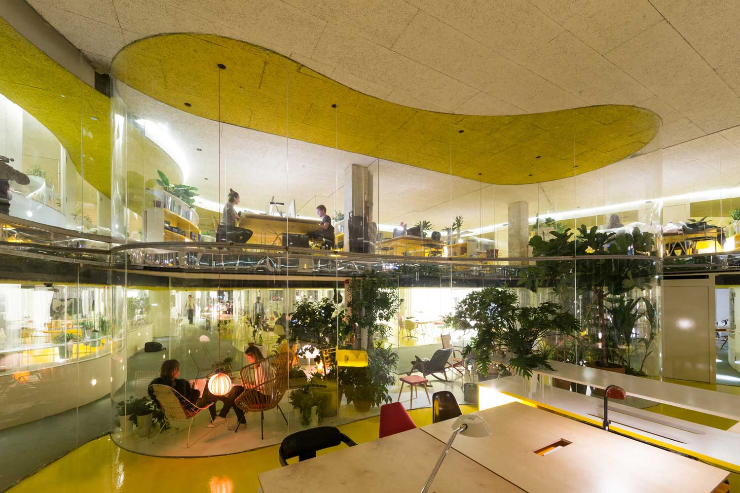 Second home london office by selgascano yellowtrace for Best home office in the world