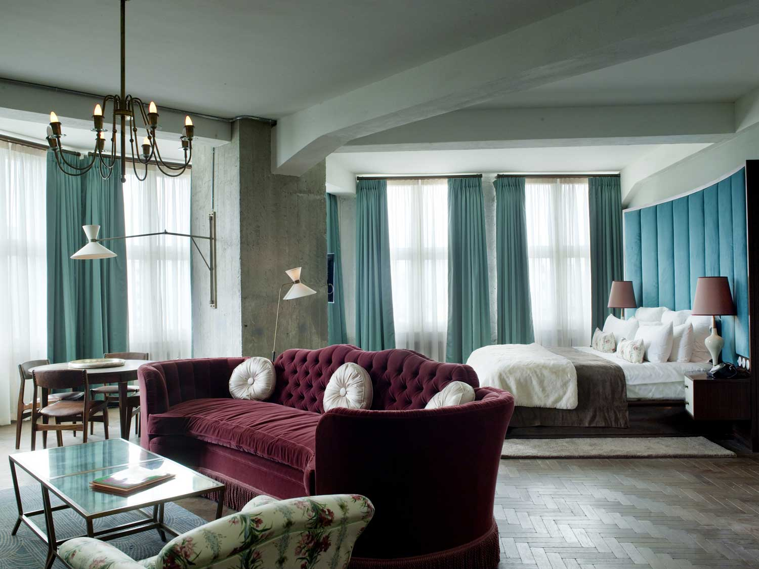 Tour of soho house s around the world yellowtrace for Sleeping room interior design