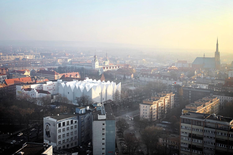 The Majestic Szczecin Philharmonic Hall in Poland by Barozzi Veiga.