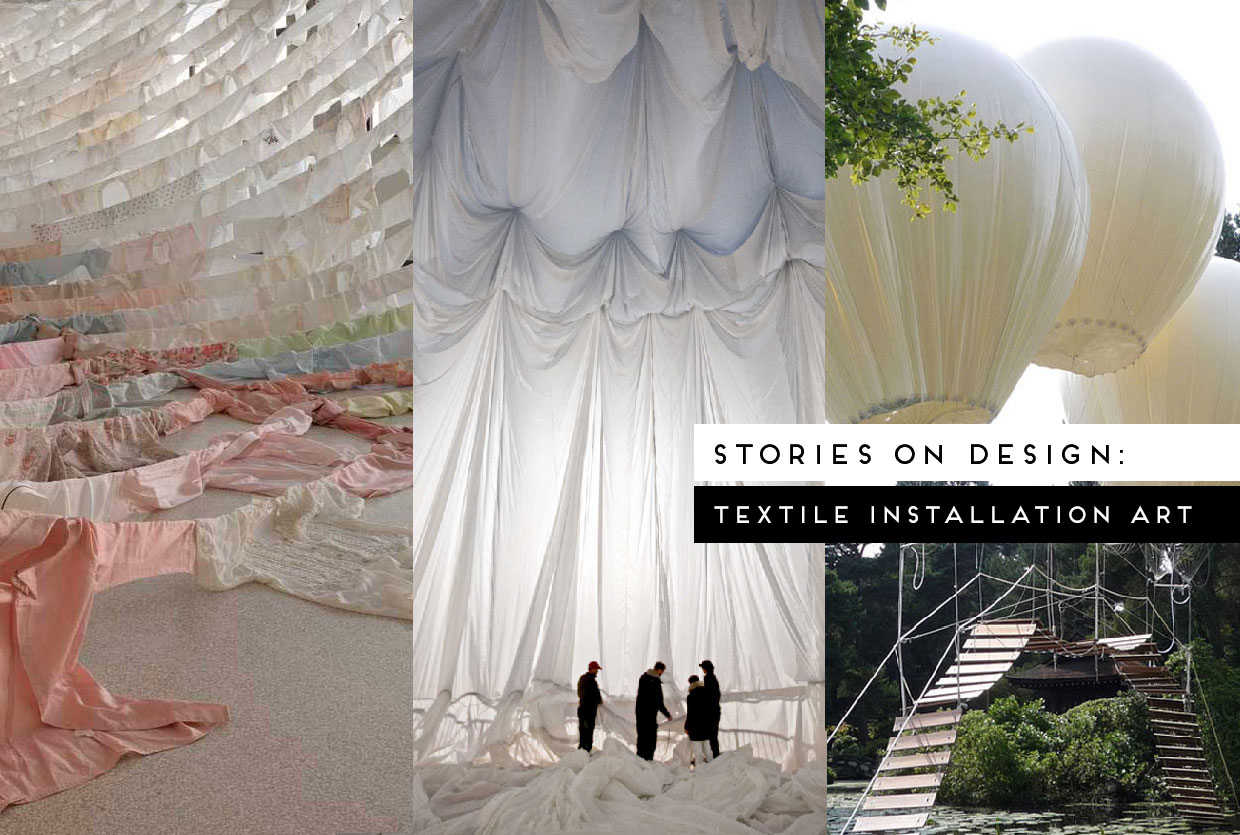 Textile Installations Curated by Yellowtrace