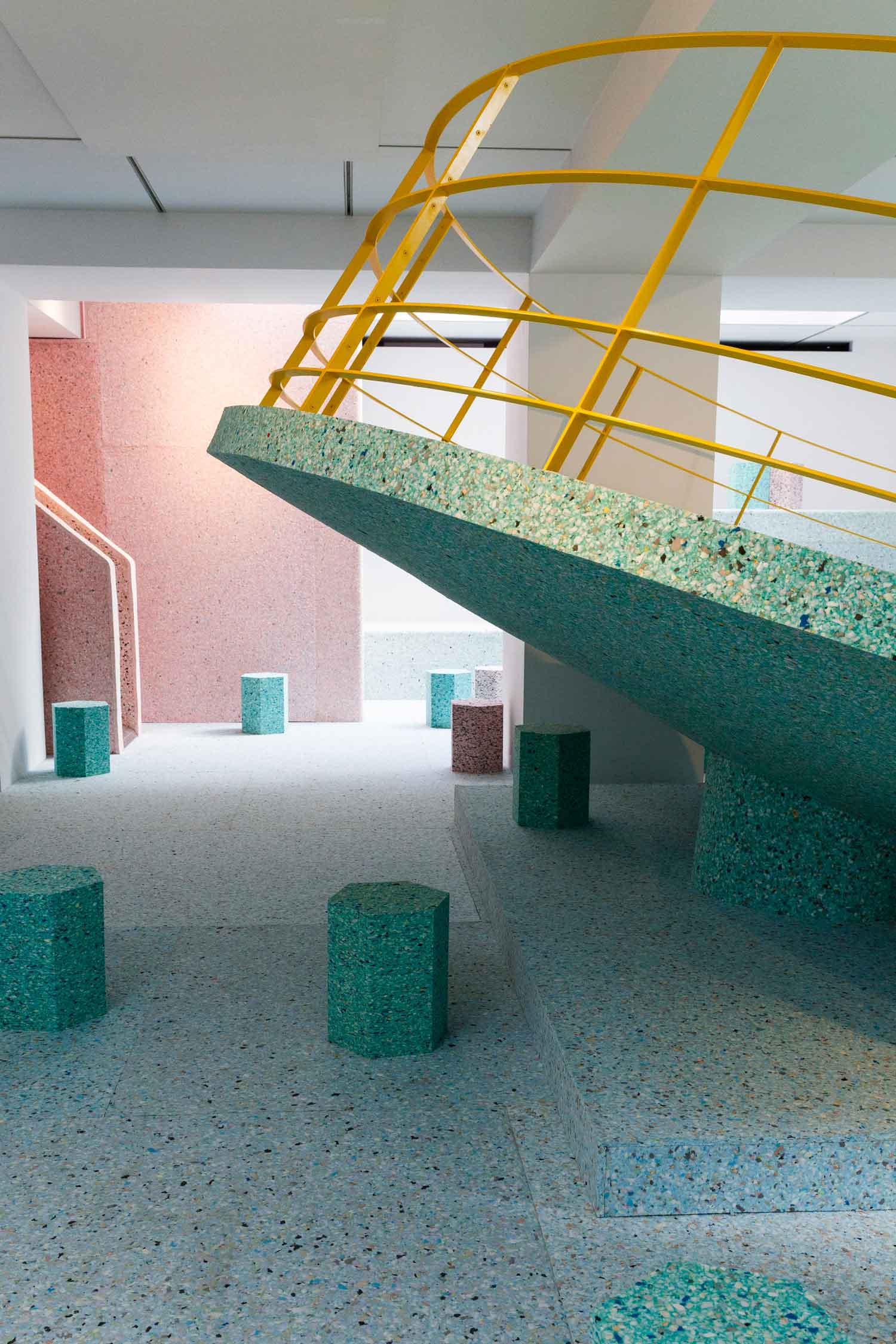 The Brutalist Playground by Assemble & Simon Terrill | Yellowtrace