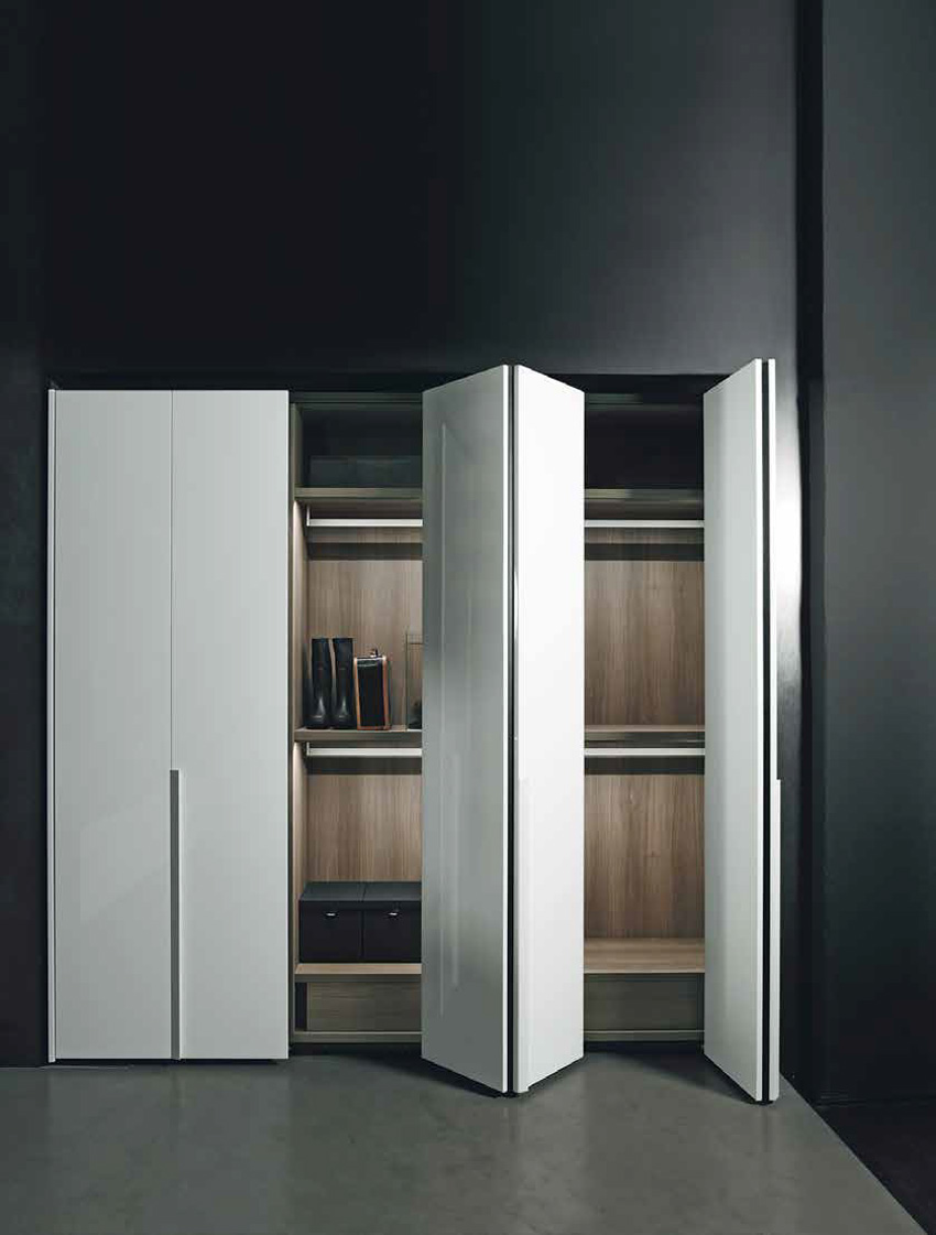 Antibes wardrobes by piero lissoni now at boffi for Farnichar door
