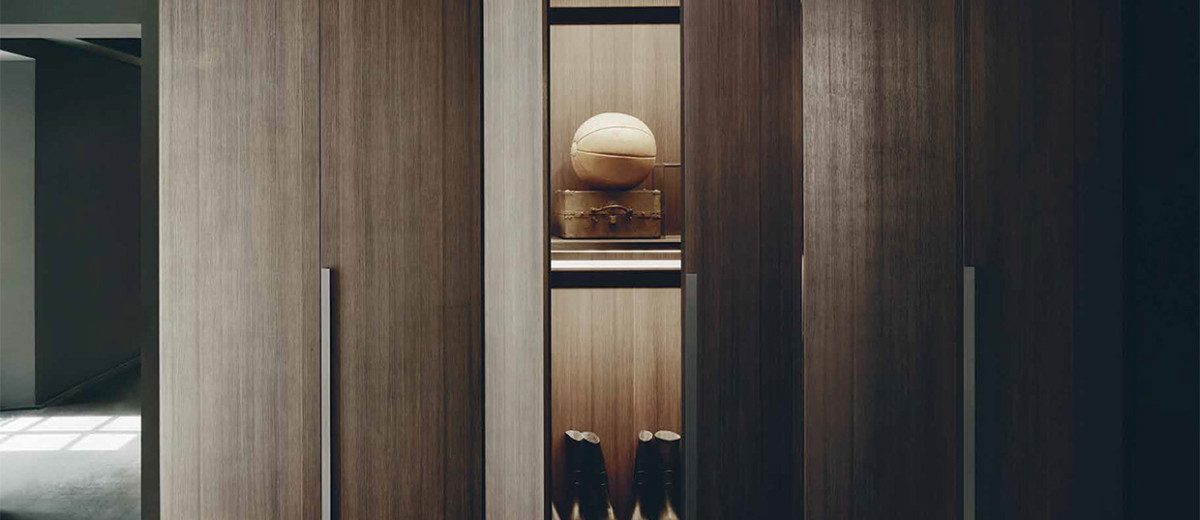 Antibes Wardrobes by Piero Lissoni Now Available in Australia at Boffi Studio Sydney | Yellowtrace