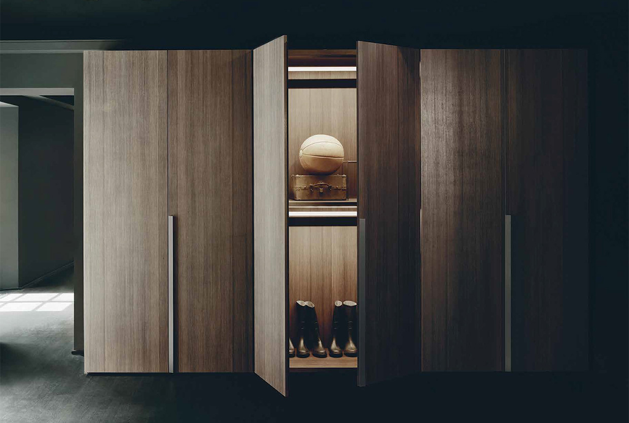 antibes wardrobes by piero lissoni now at boffi. Black Bedroom Furniture Sets. Home Design Ideas