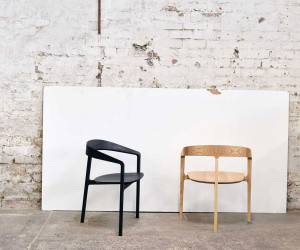 Bow Chair by Tom Fereday for DesignByThem | Yellowtrace