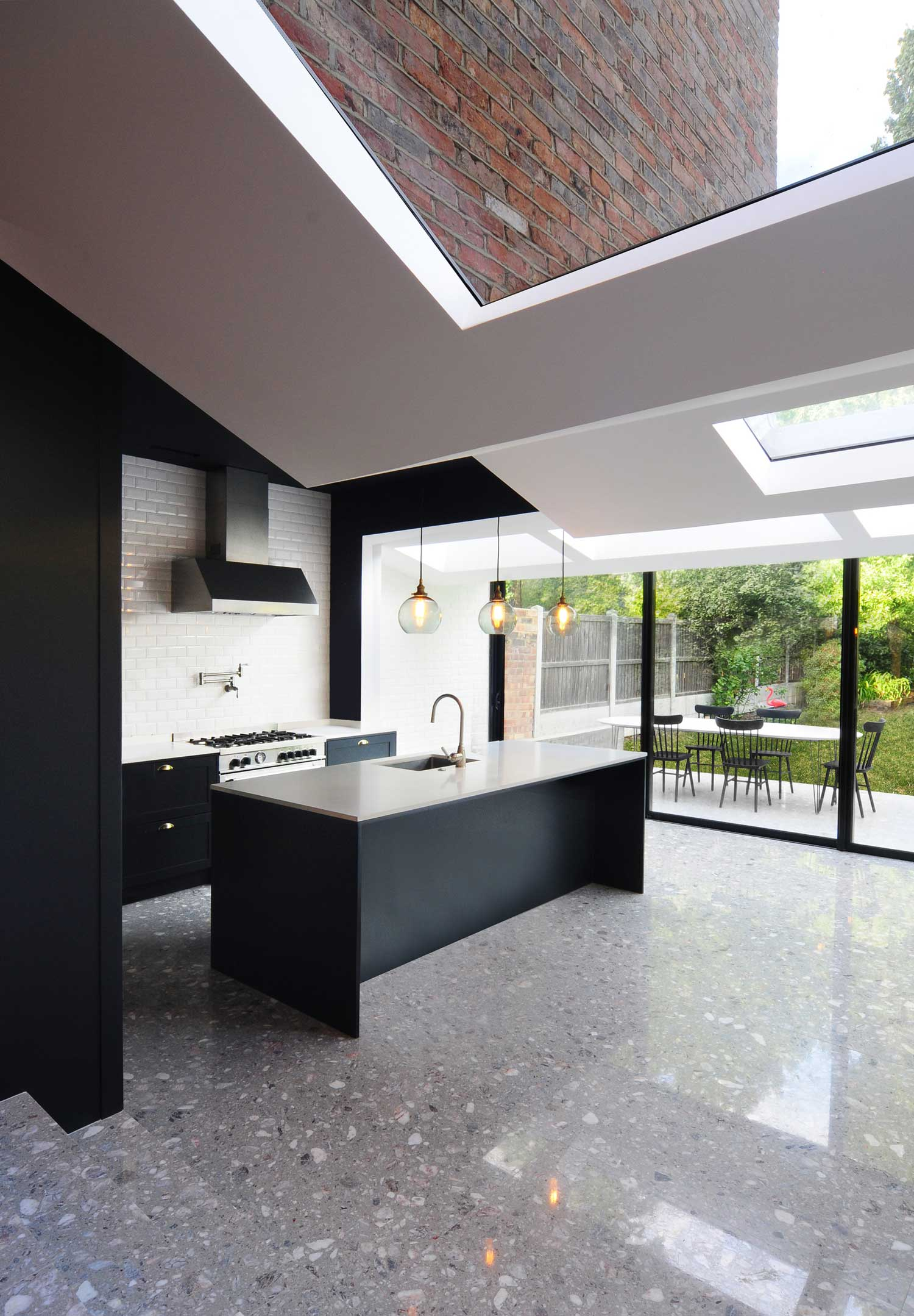 bureau de change 39 s residential extension in north london. Black Bedroom Furniture Sets. Home Design Ideas