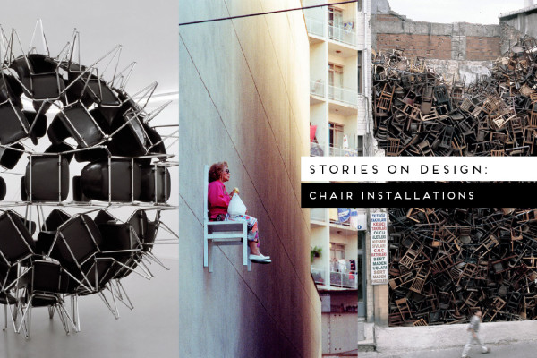 Stories on Design: Chair Installations, Curated by Yellowtrace
