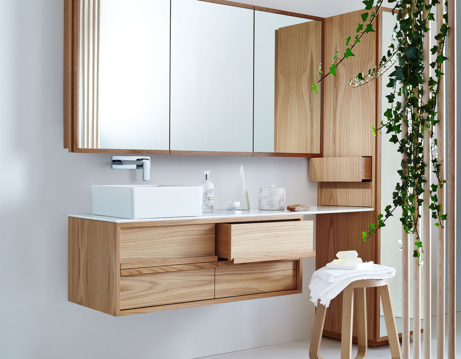 ISSY by Zuster Collection of Bathroom Furniture  Yellowtrace