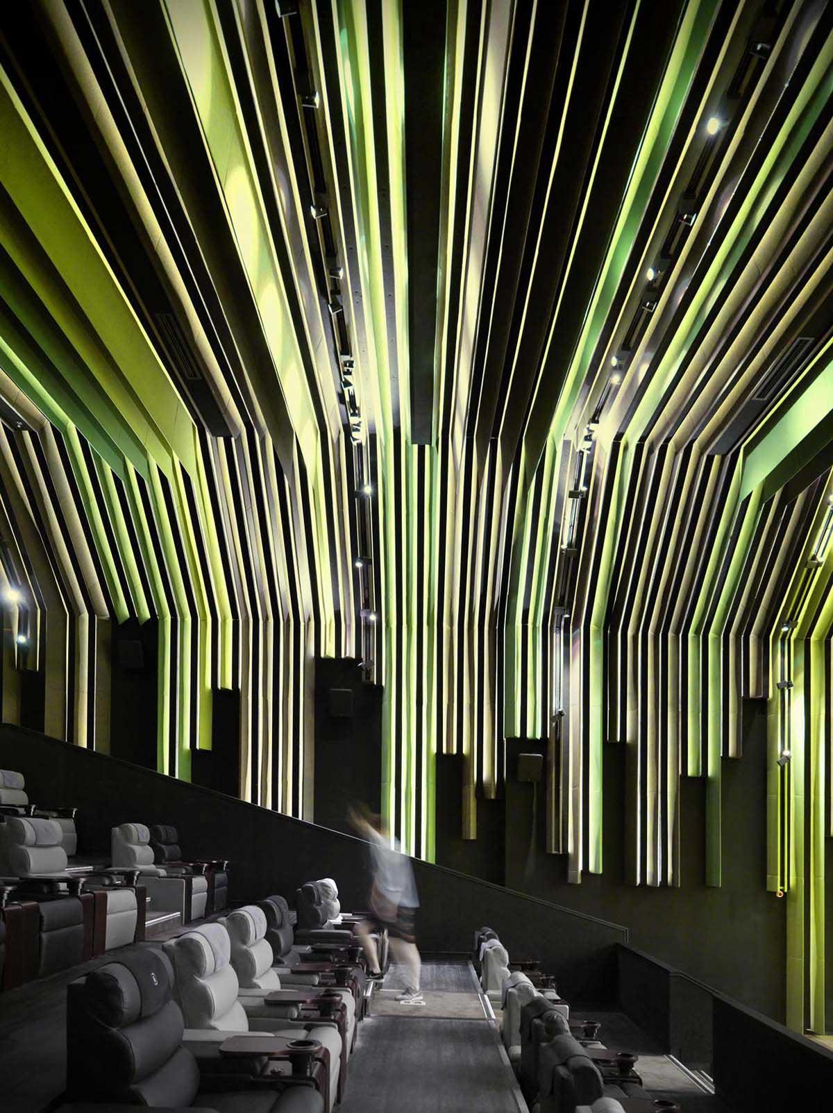 Nanchang insun international cinema by one plus for International interior decor