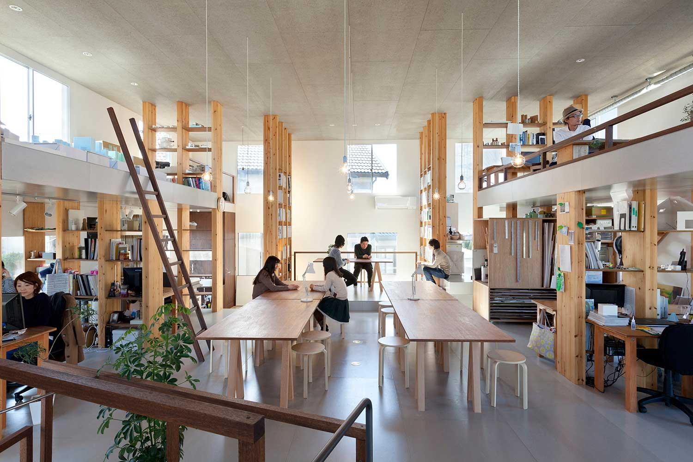 Pillar Grove Architects' Office by Mamiya Shinichi Design Studio | Yellowtrace
