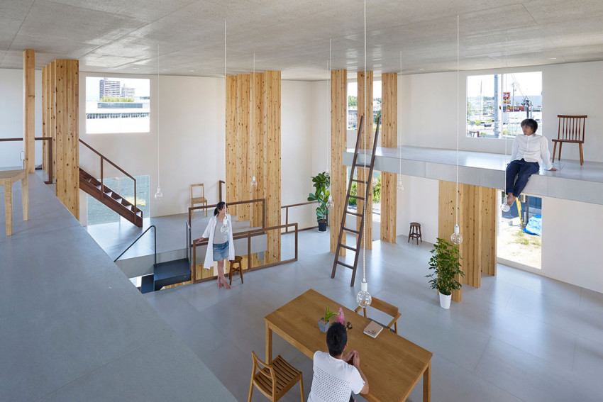 Pillar Grove Architects' Office by Mamiya Shinichi Design Studio | Yellowtrace