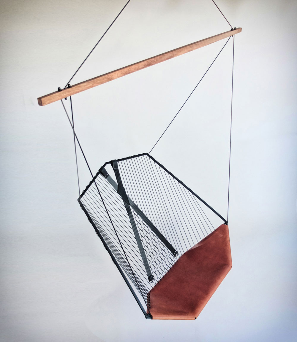 Suspended Chair by Les Ateliers Guyon