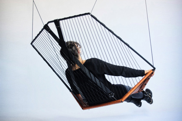 Solo Cello Suspended Chair by Félix Guyon of Les Ateliers Guyon | Yellowtrace