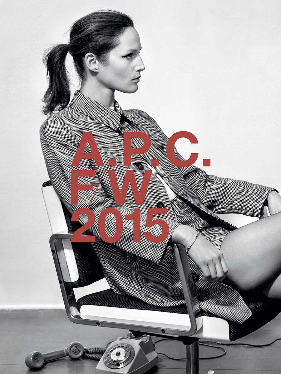 Study of Fashion House Logos, A.P.C. | Yellowtrace