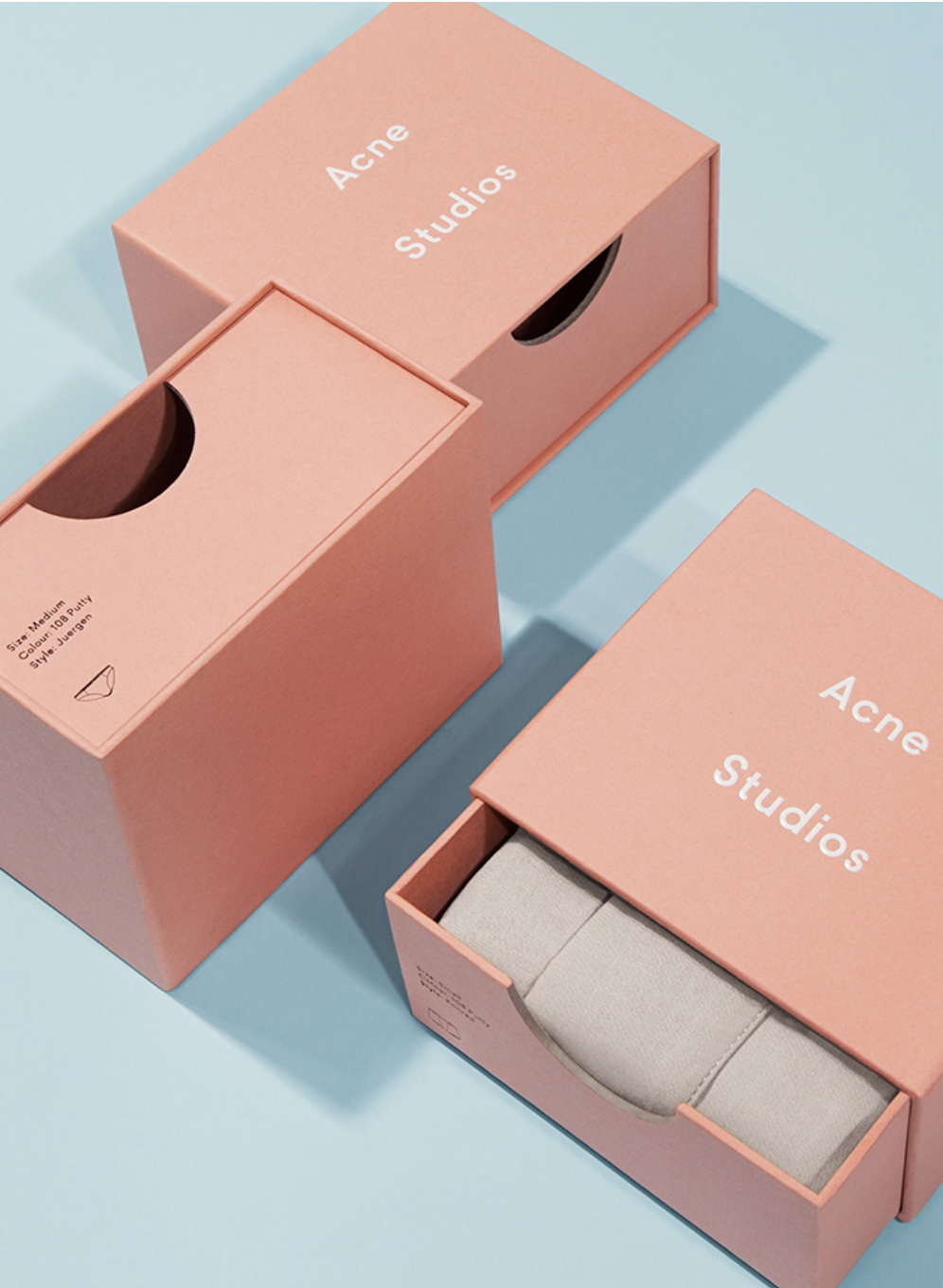 Study of Fashion House Logos, Acne Studios | Yellowtrace