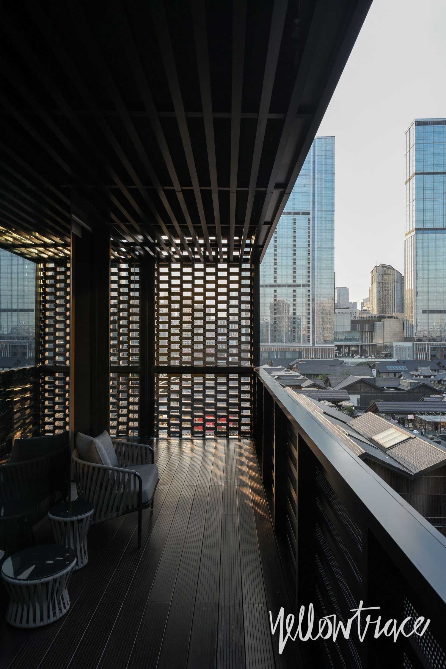 View From the Apartments at The Temple House Chengdu China, Photo © Nick Hughes | Yellowtrace