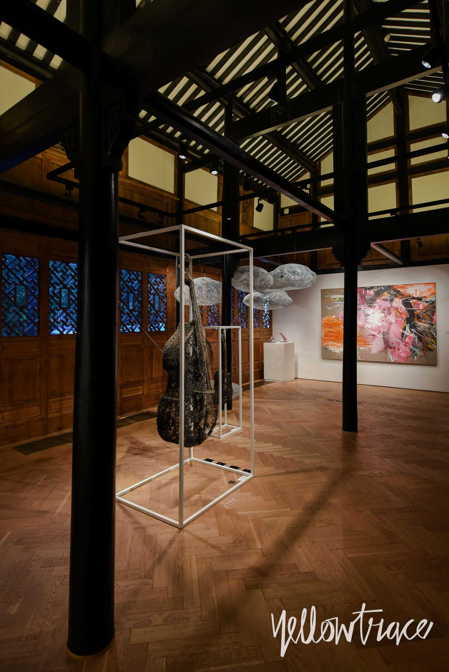 Art Gallery at The Temple House Chengdu China, Photo by Nick Hughes | Yellowtrace