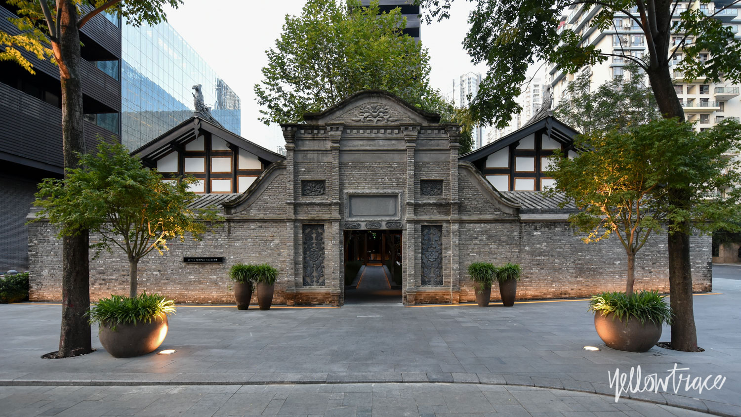 The Entry to The Temple House Chengdu China, Photo by Nick Hughes | Yellowtrace