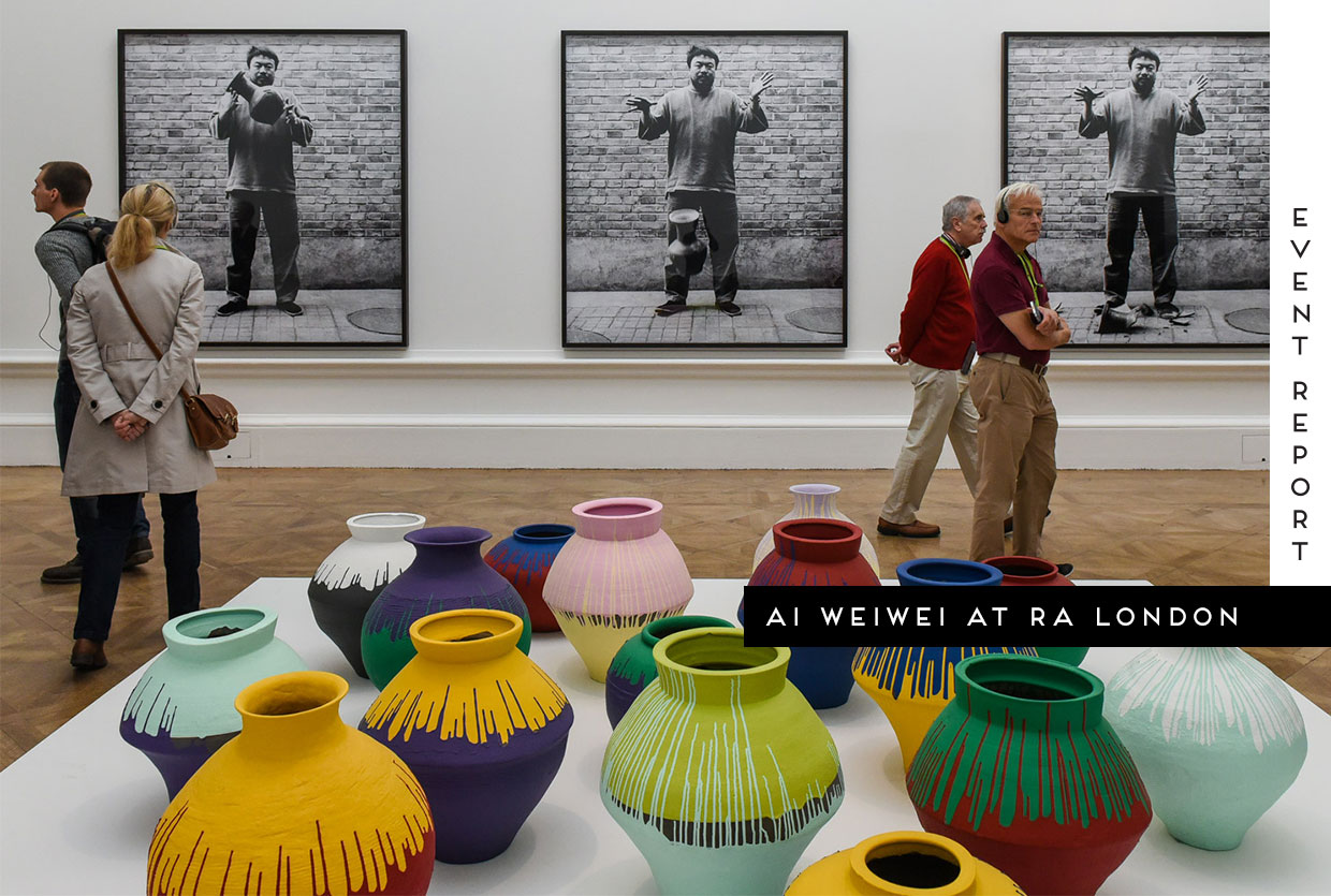 Ai WeiWei Exhibition at the Royal Academy of Arts London | Yellowtrace