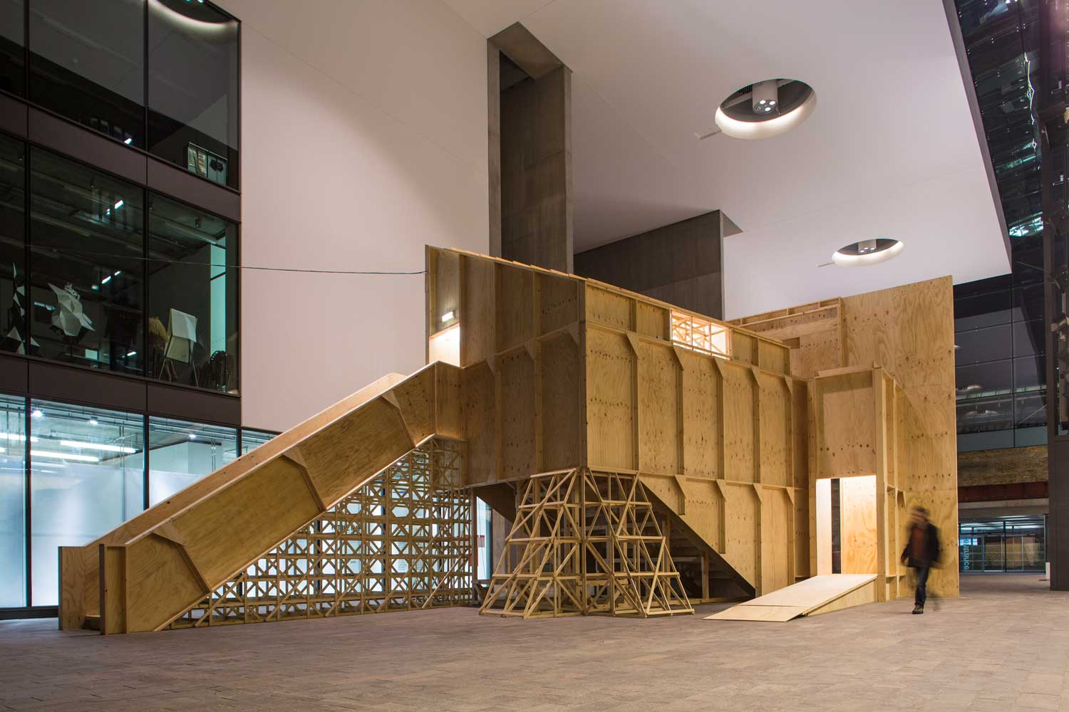 Black Maria Auditorium by GRUPPE   Yellowtrace