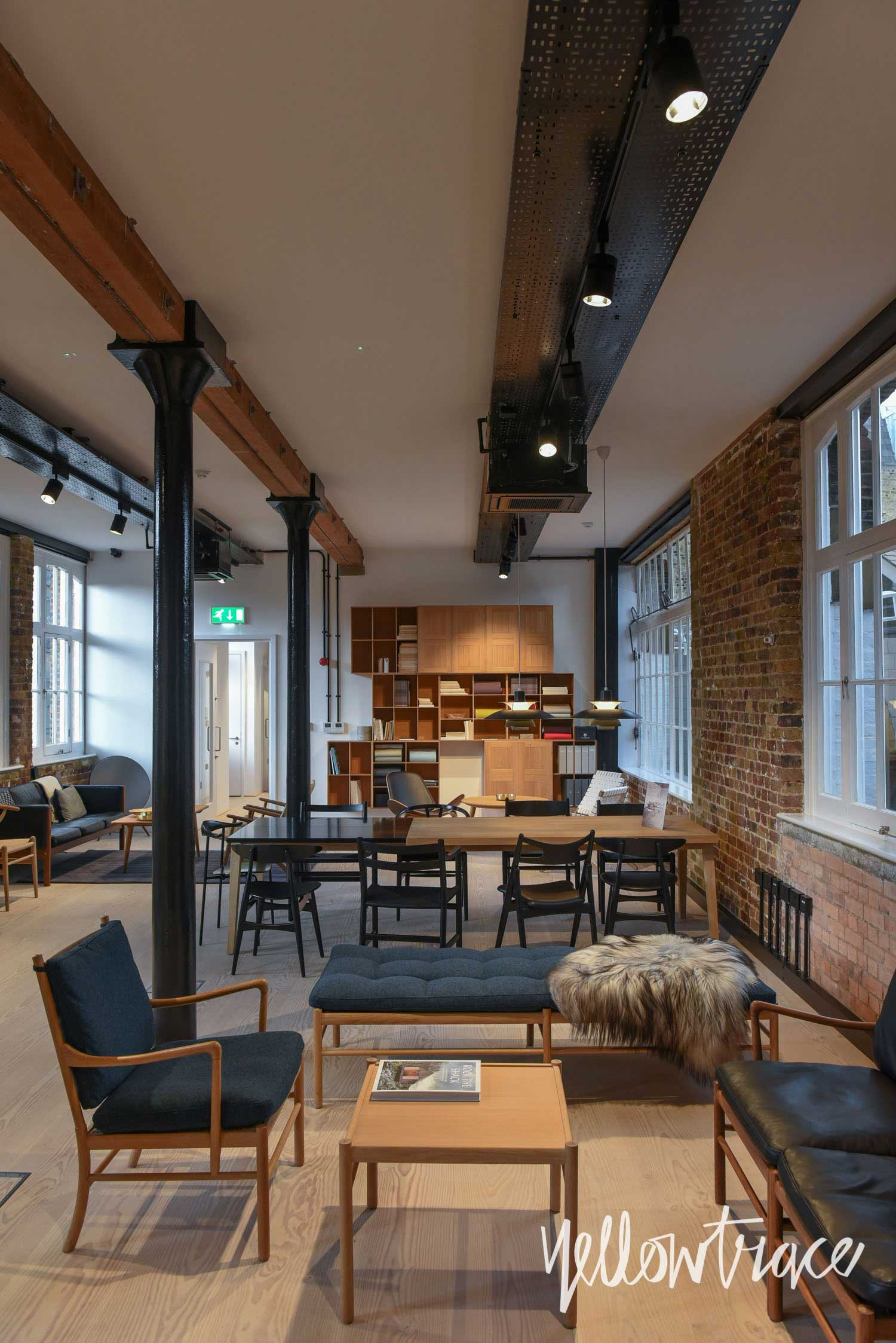 Carl Hansen Showroom London, Photo © Nick Hughes | Yellowtrace