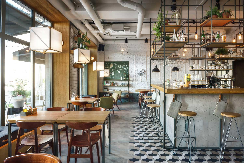 G wna osobowa kitchen bar by pb studio yellowtrace for Stili di arredamento di interior design