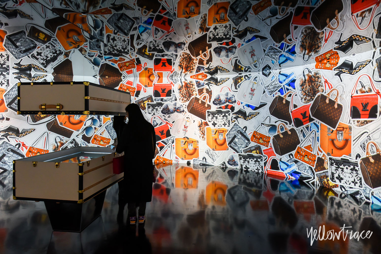 Louis Vuitton Series 3 Exhibition in London, Photo © Nick Hughes | Yellowtrace