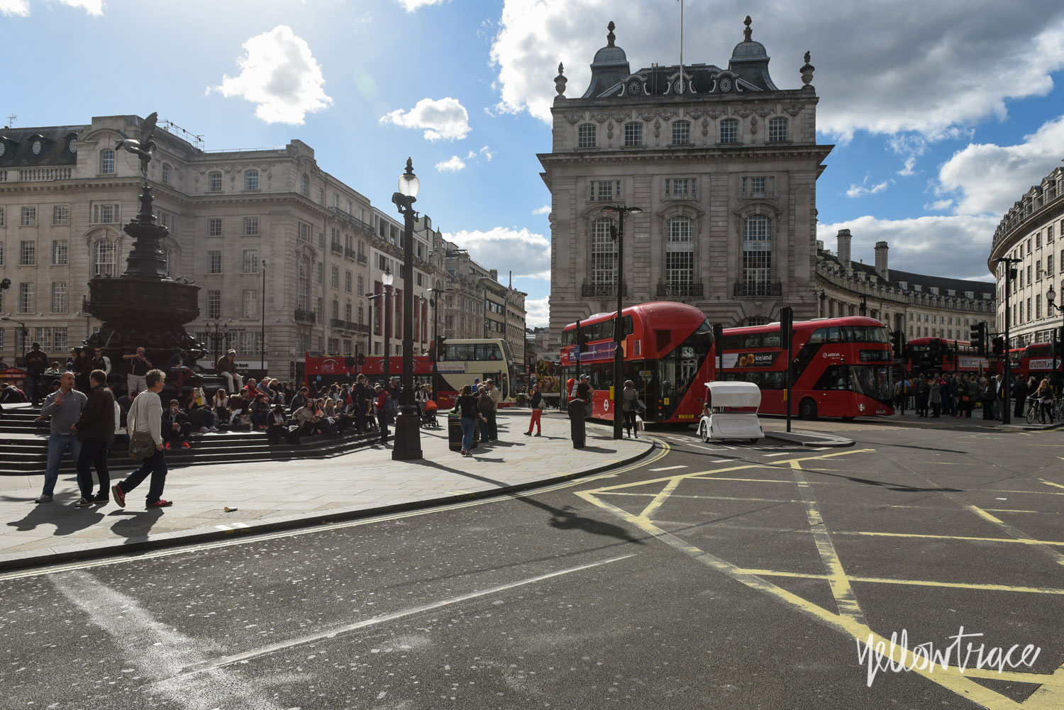 Piccadilly Circus London, Photo ©Nick Hughes | Yellowtrace