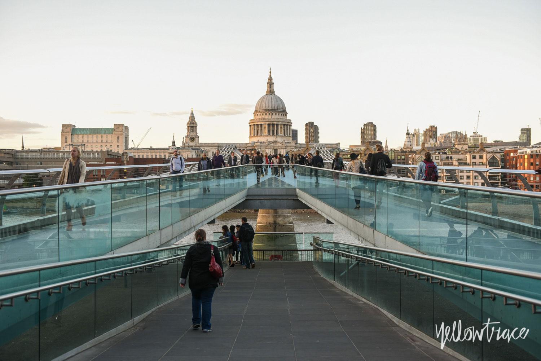 Millennium Bridge & St Paul's London, Photo ©Nick Hughes | Yellowtrace