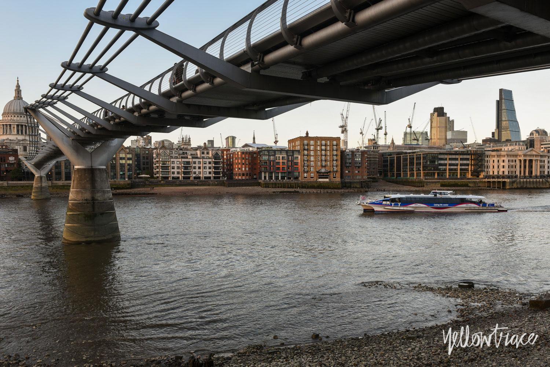 Millennium Bridge London, Photo ©Nick Hughes | Yellowtrace
