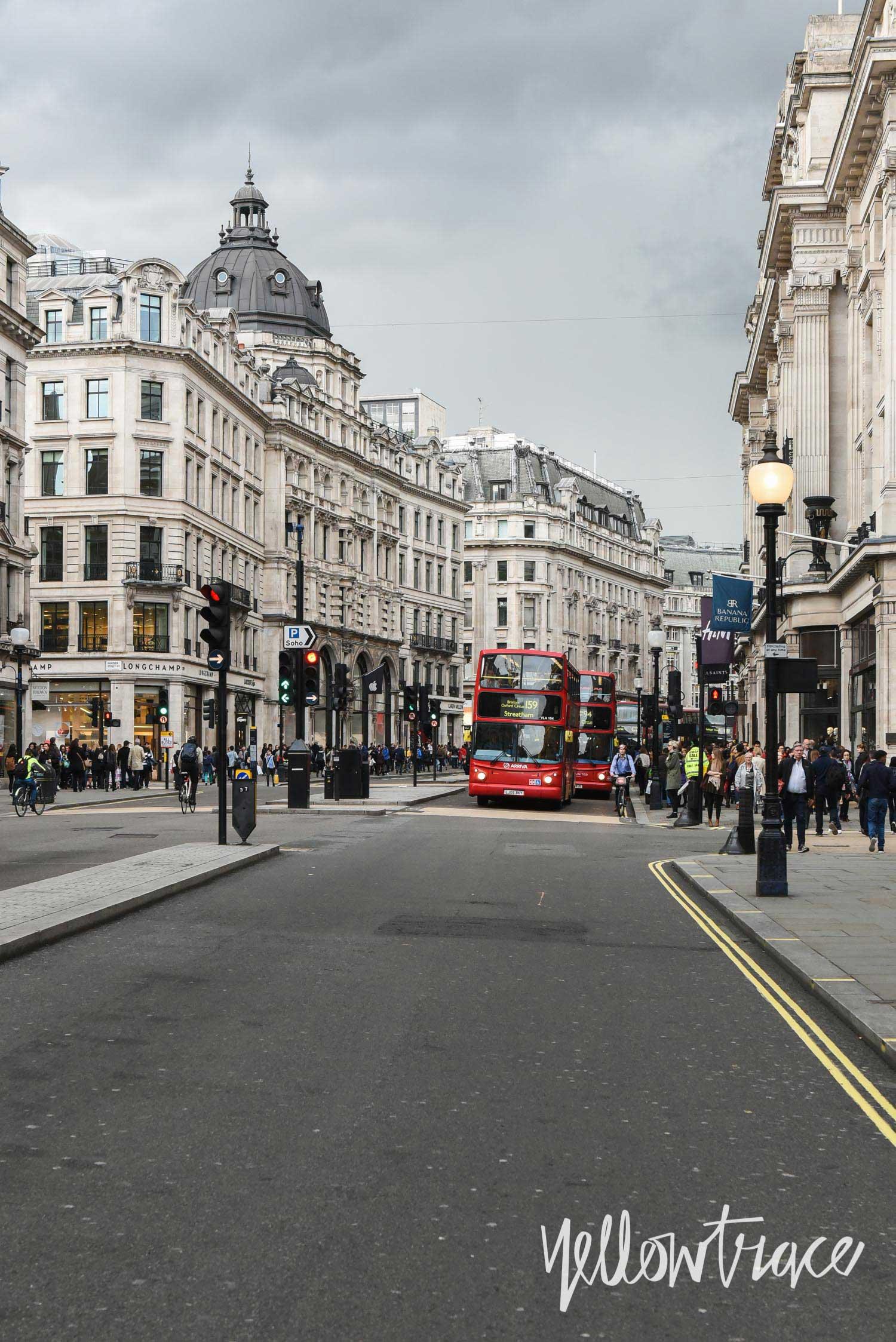 London Regent Street, LDF15, Photo ©Nick Hughes | Yellowtrace