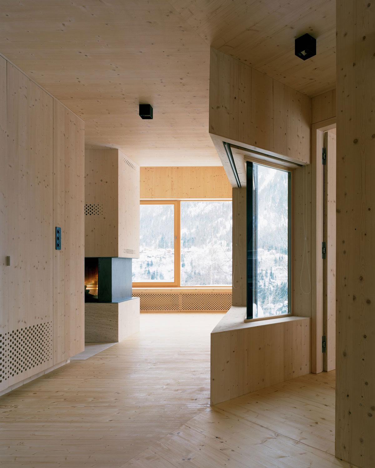 Maison aux Jeurs by Lacroix Chessex | Yellowtrace