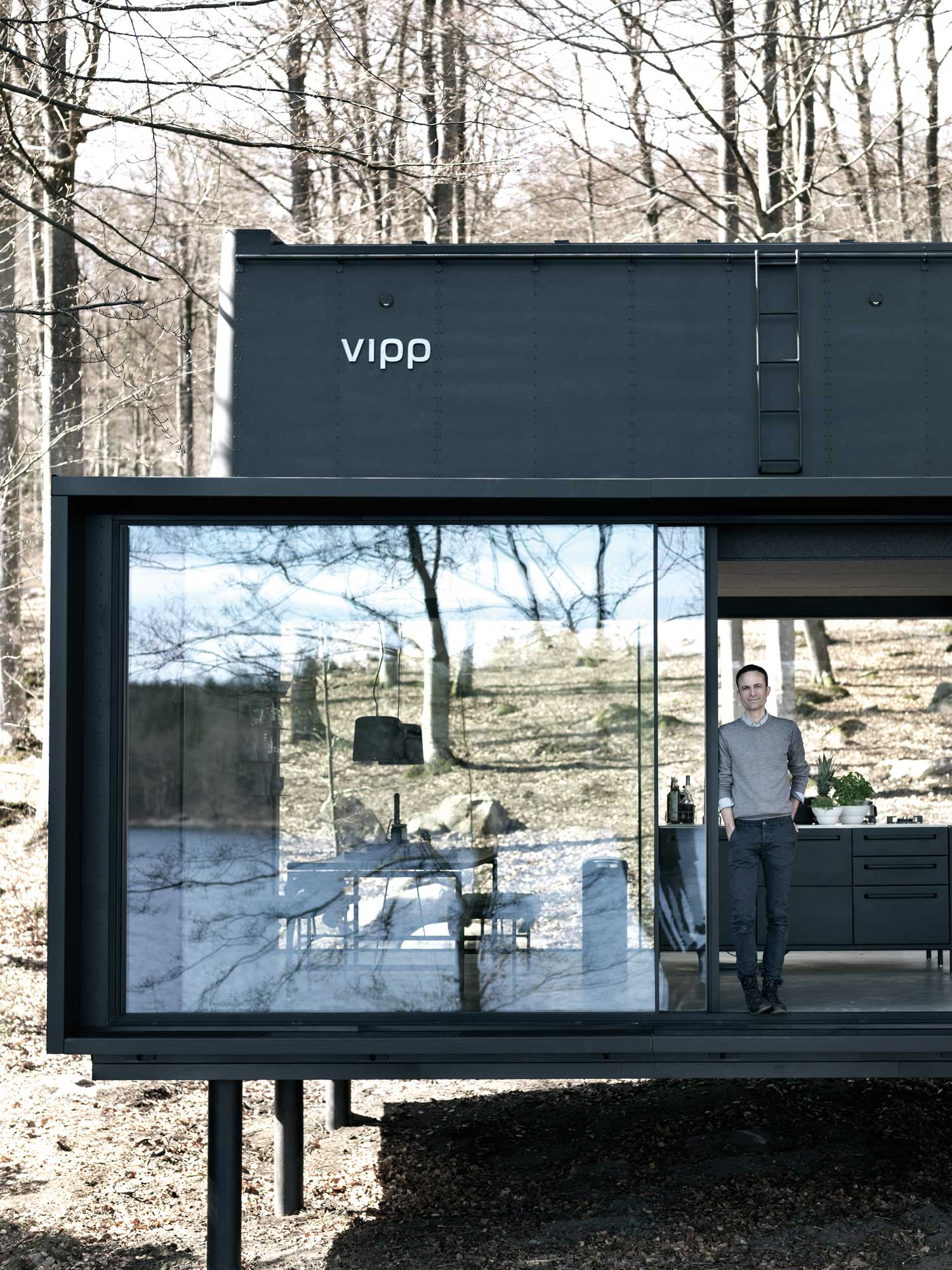 Nature is omnipresent with vipp shelter yellowtrace for Shelter studios